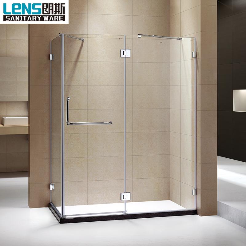 Frameless Tempered Glass Shower Cubicles Enclosure Sri, Frameless ...