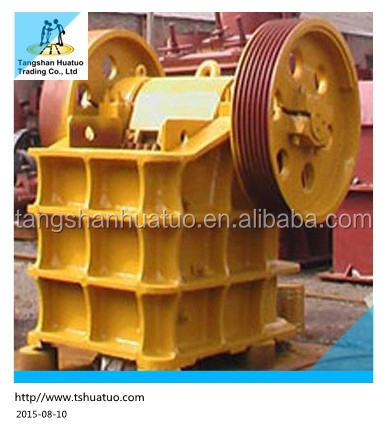 High efficiency stone jaw crusher plant project report for sale