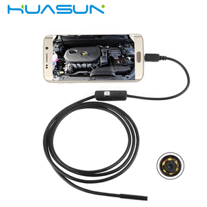 720P HD 7mm lens 1m to 5m cable Endoscope camera For Android Phone With OTG IP66 Waterproof with Side mirrors micro USB Camera