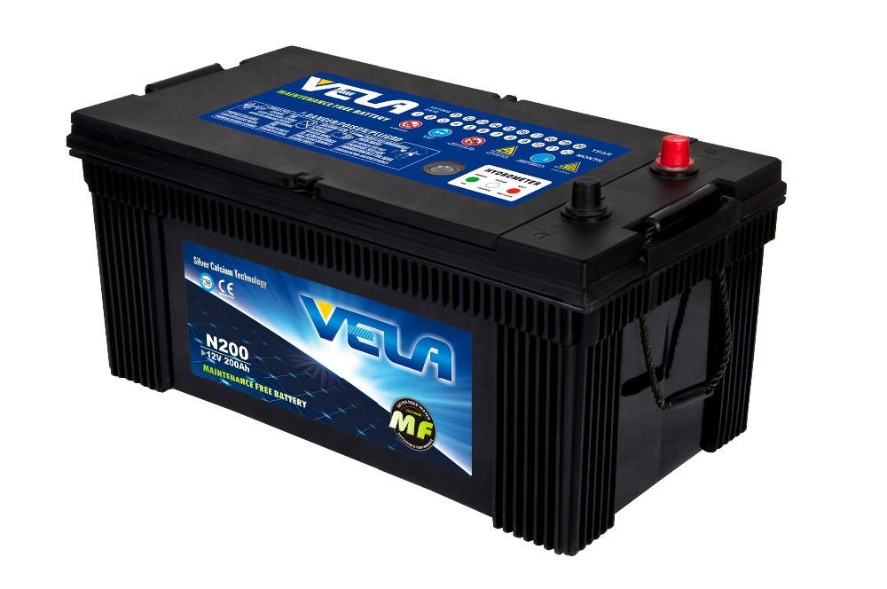 Vela Jis Series Japan Car Mf Battery Mf200ah Car Battery Auto ...