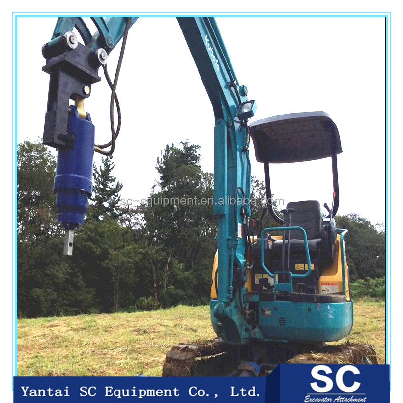 Hot New Products solar construction tool Pile Driver Ground Screw Machine