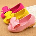 2016 Hot Candy Color Summer Kids Girls Princess Sandals Brand Designer Bowknot Thin Shoes Children Antiskid