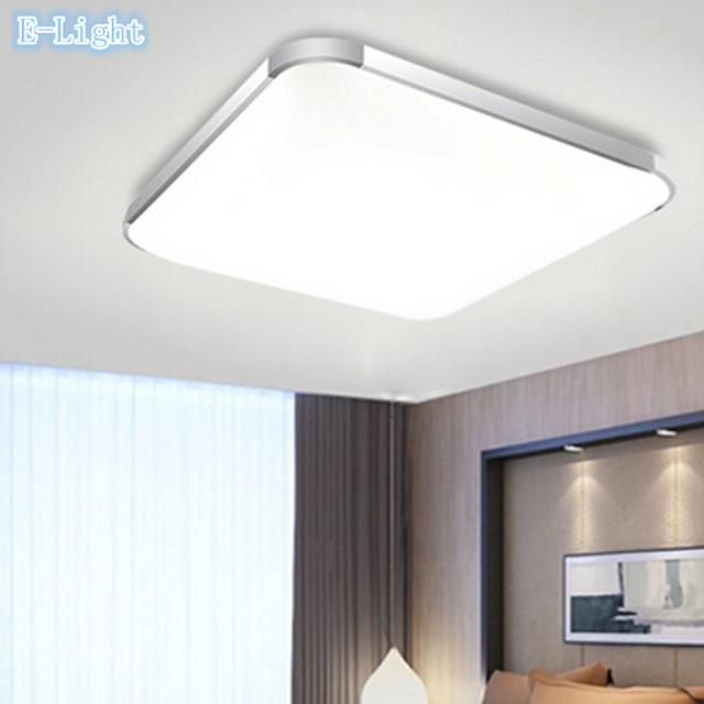 26 W LED Luces de Techo Cuadrada Lámpara de Aluminio ...