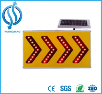 Sp Solar Power Arrow Board Traffic Sign For Road Safety