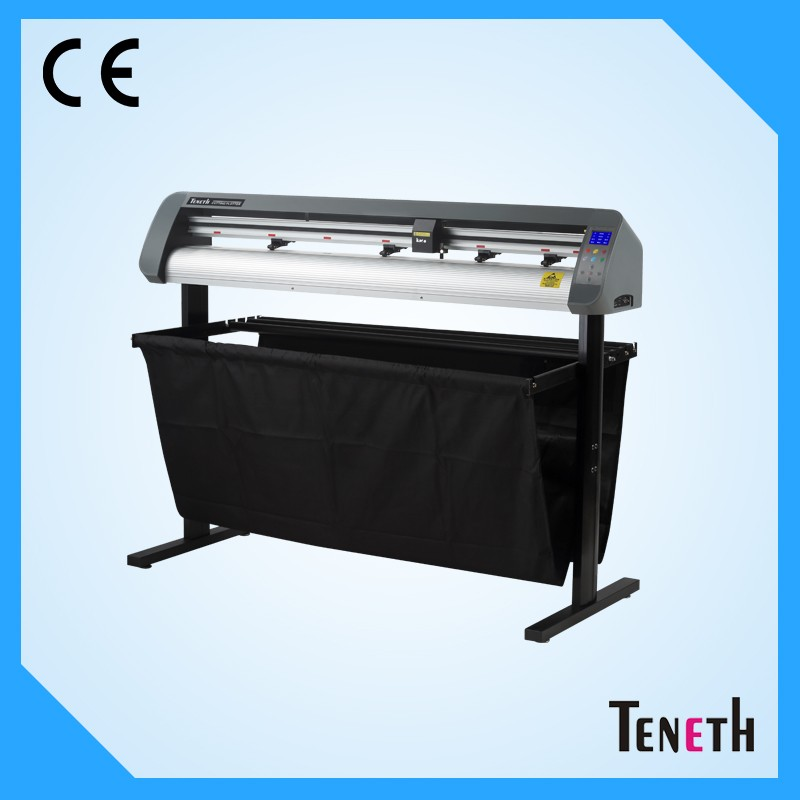 Teneth snijplotter th1300 corel draw software laser plotter printer muur of auto sticker snijplotter