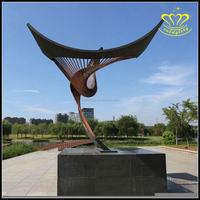 Large Outdoor Metal Stainless Steel Garden Modern abstract Art Sculpture for sale