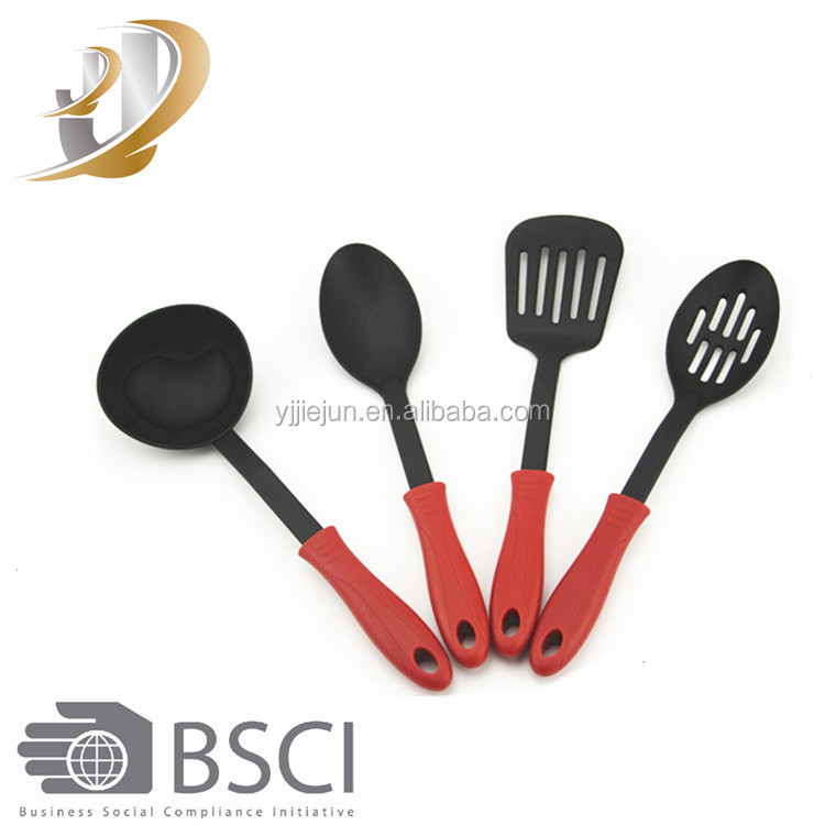 4pcs/Set FDA nylon Cooking Tools Solid Serving kitchen Utensils