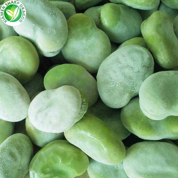 Bulk Green Fresh IQF Fava Peeled Frozen Broad Bean