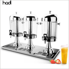 Voedsel <span class=keywords><strong>water</strong></span> drank <span class=keywords><strong>dispenser</strong></span> commerciële buffet tap <span class=keywords><strong>acryl</strong></span> koude verse apparatuur 3 gallon 24L fruit juicer <span class=keywords><strong>dispenser</strong></span> voor verkoop