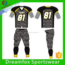 Quality Customized American Football Uniforms/army camo football uniforms