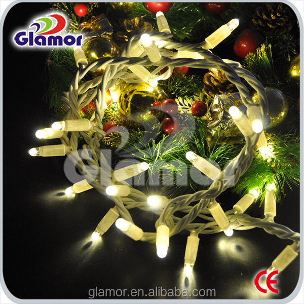 LED Luz de navidad SAA / CE / GS Outdoor LED Light Chain, LED Christmas Fairy Light