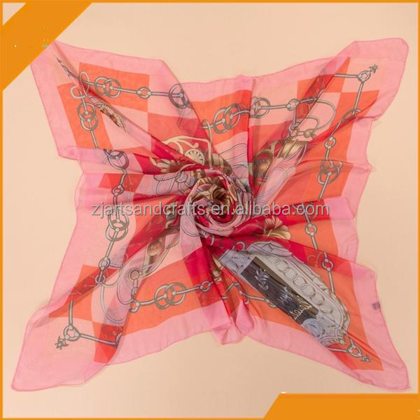 silk scarves wholesale pink