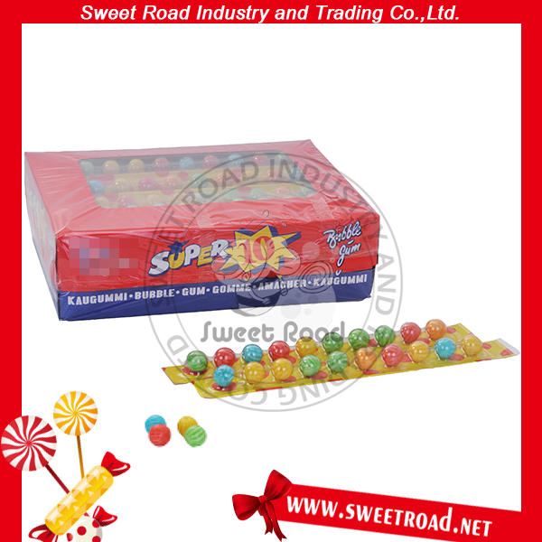 Super 10pcs Ruler Football Ball Bubble Gum