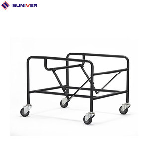 metal dolly stacking chair trolley