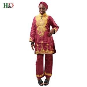 African Bazin Riche Dress c42e8d403