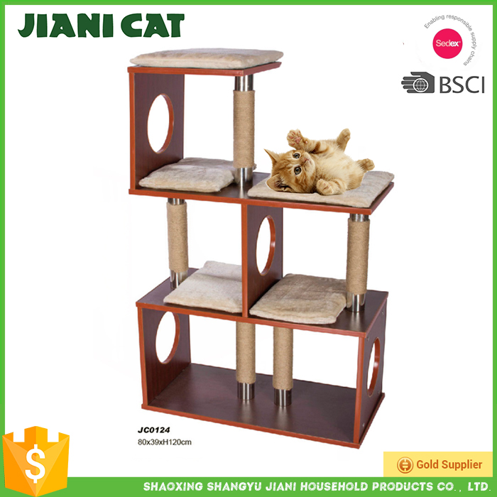 il couches chat maison chat scratcher chat en bois maison jouets pour animaux domestiques id de. Black Bedroom Furniture Sets. Home Design Ideas