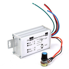 12V 24V 20A Max PWM DC Motor Stepless Variable Speed Controller 25kHz Switch, Stepless Variable Speed Controller
