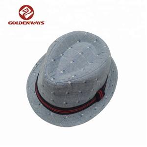Cotton Fedora Hat Kids Wholesale ba1aeacdaafe