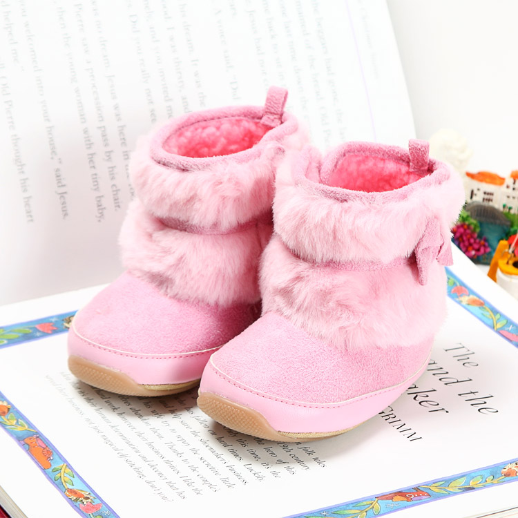 Outsta Fashion Girls Boys Winter Fringe Tassel Martin Boots Snow Shoes,Baby Kids Anti-Slip Warm Boots