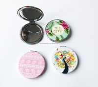 Wholesale custom made pocket compact mirror
