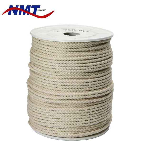 Manufacturers multi-color waxed soft twisted and braided cotton cord