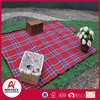 New design acrylic easy-carrying waterproof picnic rug