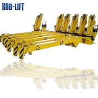 Small Diesel Engine Lift Boat Crane with Hydraulic Winch