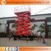 12m 300kg Mobile scissor hydraulic lifting platform/ work table / lifter