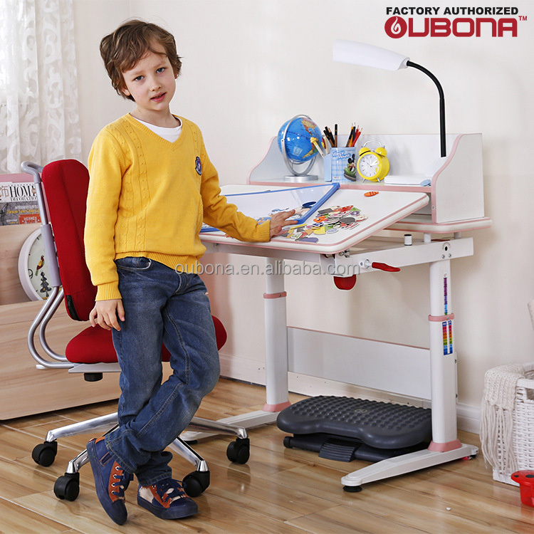 Altura ajustable escritorio para ni os mesa de estudio for Altura escritorio ergonomico