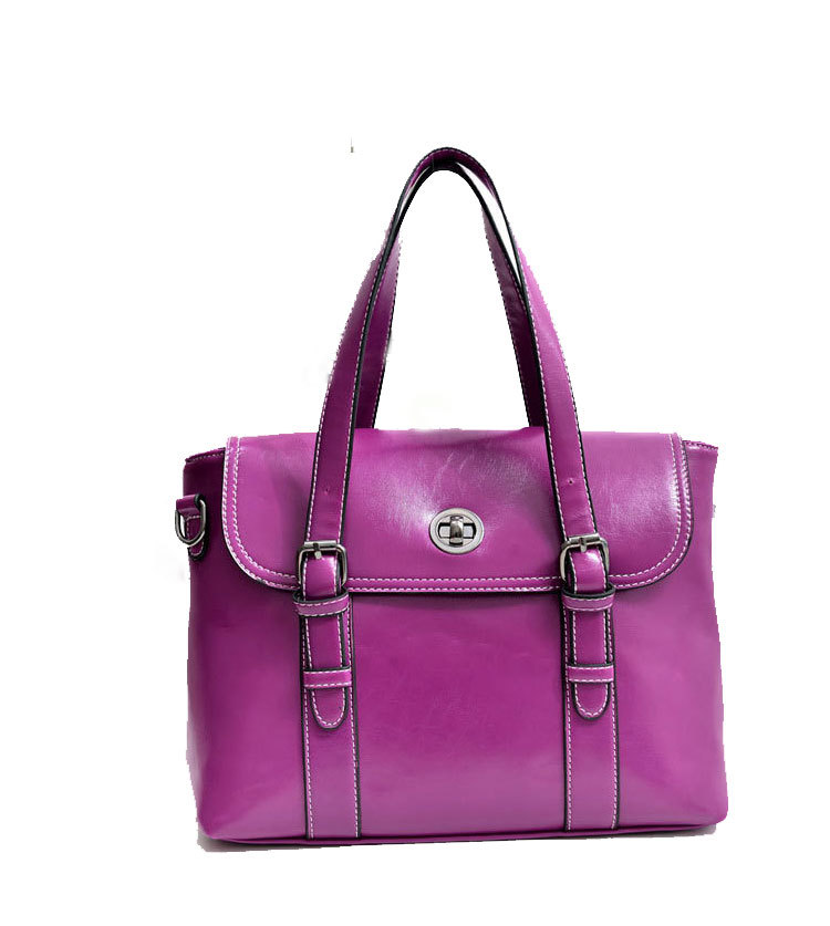 Free Shipping Quality Guaranteed 100% Fashion Casual Solid PU Leather Women Tote Handbags Retail And Wholesale