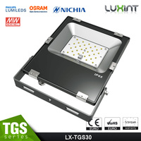 30w LED Security Flood Lights 2016 CE Rohs Approved Promotional Price Meanwell Driver Free Lighting Design Shenzhen Factory