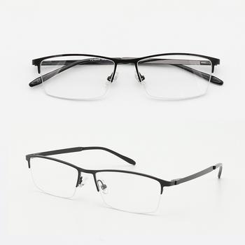 3a906616fe6 No MOQ light half-rim ready goods metal eyewear frames. View larger image