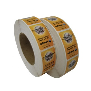 Custom Self Adhesive Sheets Sticker Printing Highest Quality Promotional Roll Labels