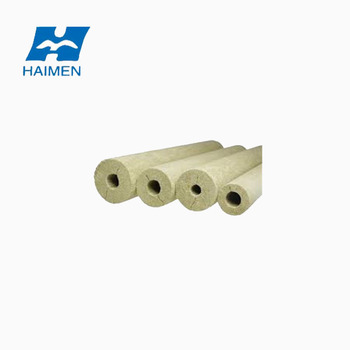 High Quality Heat Preservation Rock Wool Pipe Insulation For Thermal Isolation