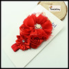 1.5X 36 cm children headbands baby hair bow wholesale hair accessories with jewelry TLLC-54