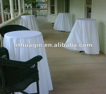 Alibaba & Party Function 100% Polyester Bistro Table Cover Banquet Cocktail Tablecloth For High Cocktail Tables - Buy Polyester Jersey Cocktail Table ...