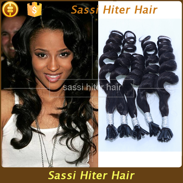 Peruvian Vigin Hair 100 Cheap Remy U Tip Hair Extension Wholesale