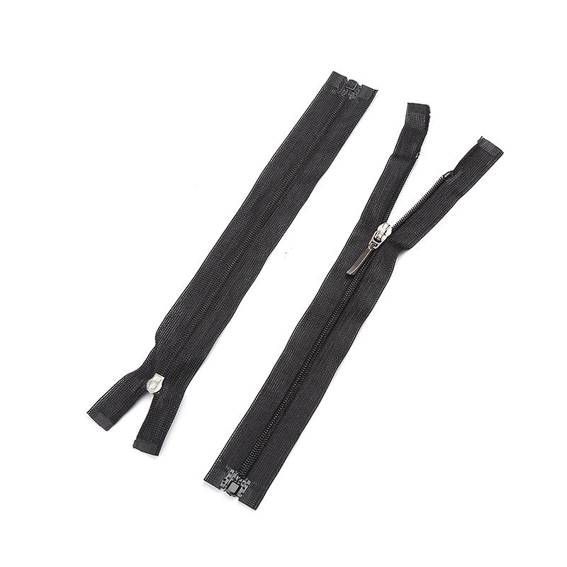 Trung Quốc Nhà Sản Xuất 3 #5 #6 #7 #8 #10 # Tùy Chỉnh Nhựa Nylon Màu Đen Dây Khóa Kéo Dài chuỗi Close-End Zip CuộN