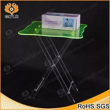 luxury transparent clear glass acrylic dressing table