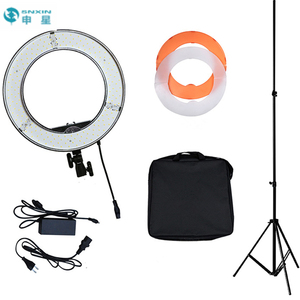 Best seller 12 Inch 3200k~5500k Circle Dimmable Photo Camera Video Studio Makeup 240pcs Led Ring Light Kit with stand