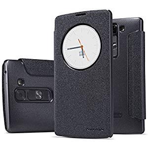 LG Volt 2 Case,LG G4c Case , Dretal@ High Quality Ultra-thin Smart Sleep Wake Pu Leather Cover Frosted Slim Back Case for LG Magna,LG G4c,LG Volt 2 (Ls751) (Black)
