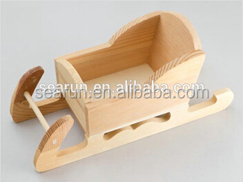Wooden Christmas gifts, Wood craft sled