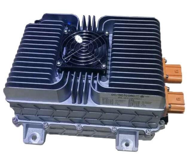 isolated high battery voltage dc to dc ac auto power converter for electric car vehicle truck on board supply transformer