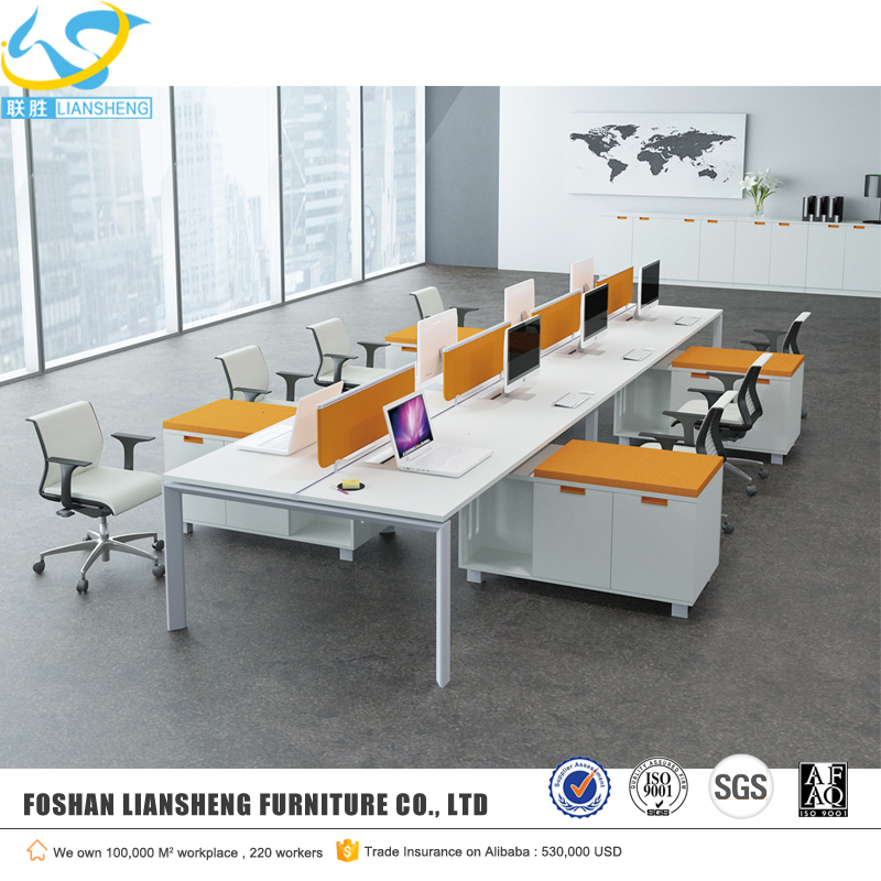 standard sizes of workstation furniture wholesale modern office desk furniture 4 people office desk office furniture china