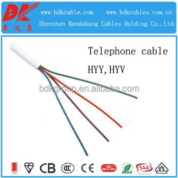 E Telephone Cable 4 Core Armoured Cat5 Cable - Buy 4 Wire Indoor ...