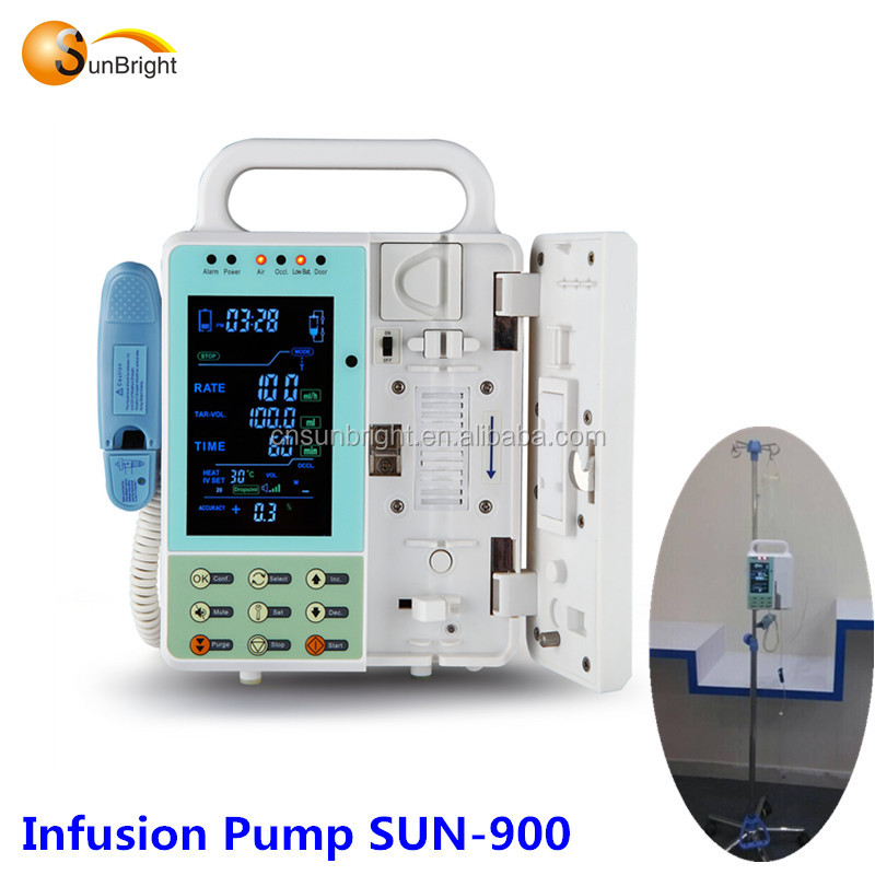 SUN-900 IV heating function medical infusion pump with best price