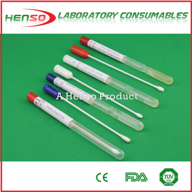 Henso medical disposable sterile Transport Swabs Amies/Stuart/Cary blair