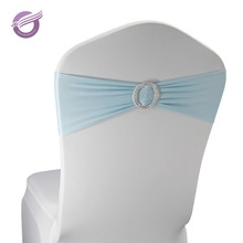 BS00178 cheap hot sale spandex chair sash with buckle for wedding/banquet decoration