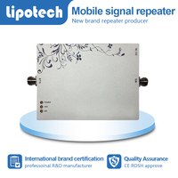 mobile signal extender 2g 3g 850 mhz high gain cell phone signal repeater/booster/amplifier