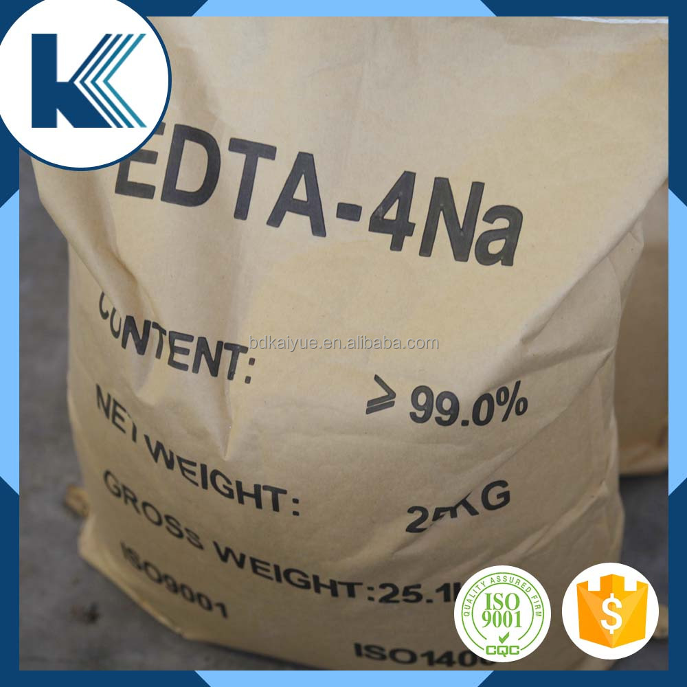 High quality white powder edta 4na with Export Experience